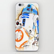 R2d2&BB8 iPhone & iPod Skin