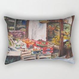 Italian Fruit Market Rectangular Pillow