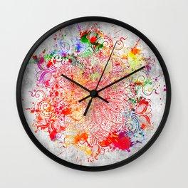 Mandala - Vandal Wall Clock
