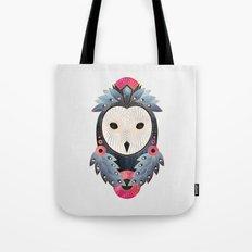 Owl 1 - Light Tote Bag