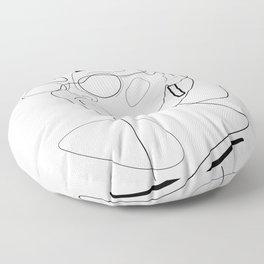 90s Look Floor Pillow