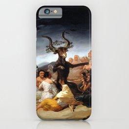 Witches Sabbath iPhone Case