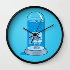 The Great Escape Artist Wall Clock