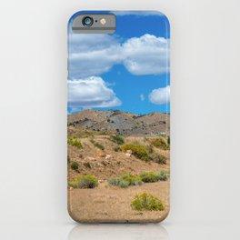 Silver City Landscape iPhone Case
