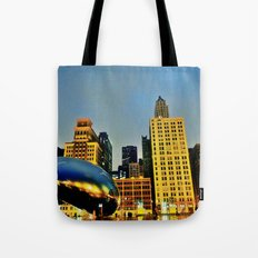 Chicago Bean Tote Bag