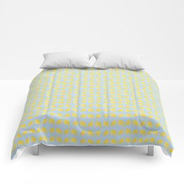 Catch the Half Lemon (Pattern Version) Comforters