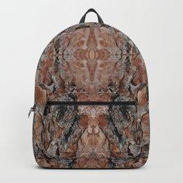 Wood Texture Kaleidoscope Backpack