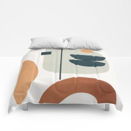 Minimal Shapes No.37 Comforters