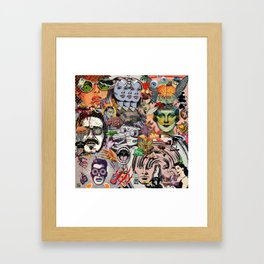 The Sun is Gone Framed Art Print