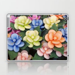 Sugared almonds as petals Laptop & iPad Skin