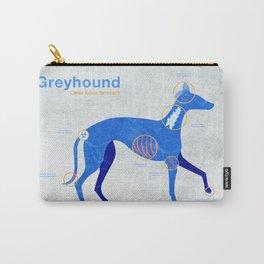 Greyhound anatomy - Grey's anatomy Carry-All Pouch