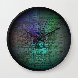 Engulf Wall Clock