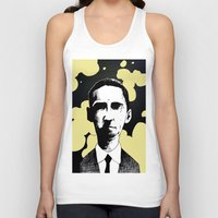 lovecraft Tank Tops featuring H.P. Lovecraft by James Courtney-Prior