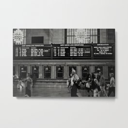 Grand Central Saturday Metal Print