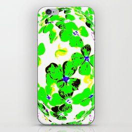 Floral Easter Egg iPhone Skin