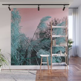 Delicate grasses Wall Mural
