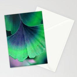 Ginkgo leaf Stationery Cards