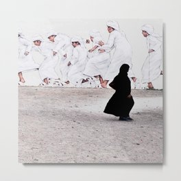Arabs crossing Metal Print