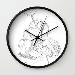 Cosmic Shaman Wall Clock