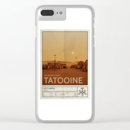 The Desert Planet of Tatooine Clear iPhone Case