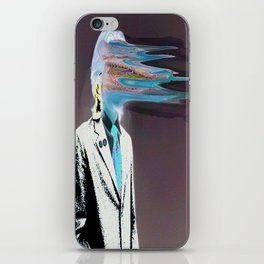 NO ONE AROUND HERE HAS THE GUTS INVERT iPhone Skin