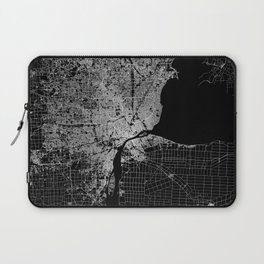 Detroit map  Laptop Sleeve