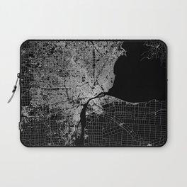 Detroit map  Laptop Sleeve