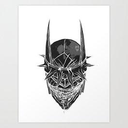 The Bat Who Laughs Art Print