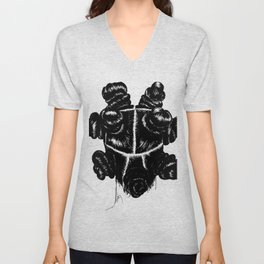 Bantu Knot By Sight Unisex V-Neck