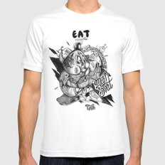 Meat Boat Mens Fitted Tee White MEDIUM