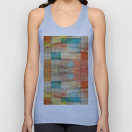 MidMod Art 5.0 Mirror Graffiti Unisex Tank Top