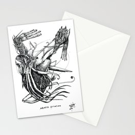 Aquatic Situation Stationery Cards