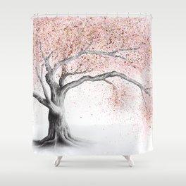 Forever Blossom Shower Curtain
