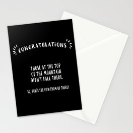 Congratulations Stationery Cards