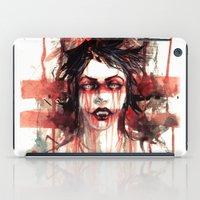 vampire iPad Cases featuring VAMPIRE by AkiMao