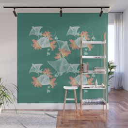 Lilies that sting Wall Mural