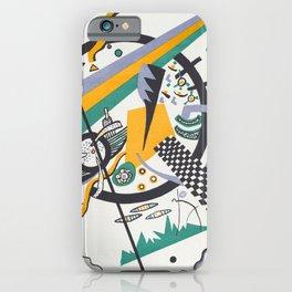 Wassily Kandinsky Kleine Welten IV iPhone Case