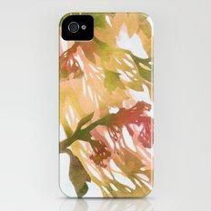 Morning Blossoms 2 - Olive Variation iPhone (4, 4s) Slim Case