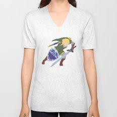 Link, He's BA (Legend of Zelda) Unisex V-Neck