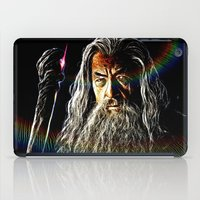 gandalf iPad Cases featuring Gandalf by D77 The DigArtisT