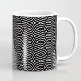 Dark Ethnic Geometric Pattern Coffee Mug