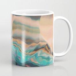 Northern light passing thru Coffee Mug