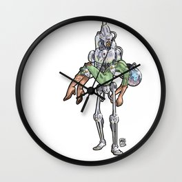 Steel Rescue Characters Wall Clock