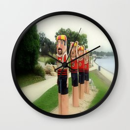 Sculptured 1930s Life Savers Bollards  Wall Clock