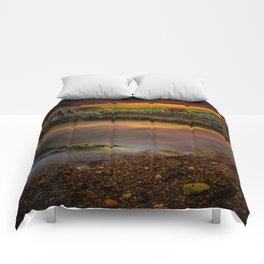 Porth Wen Brickworks Sunset Comforters