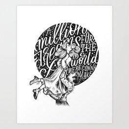 A Million Dreams Art Print