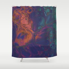Labradorite Shower Curtain