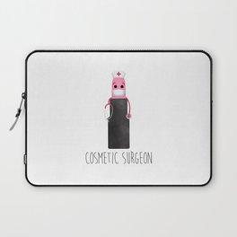 Cosmetic Surgeon Laptop Sleeve