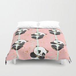 Panda Pattern 07 Duvet Cover