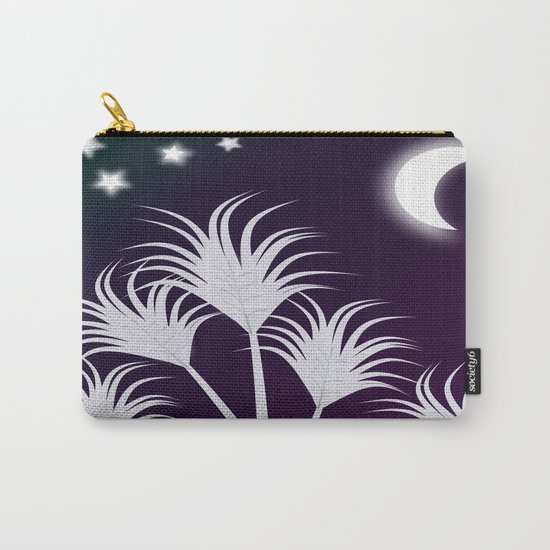 Palms at Night Carry-All Pouch